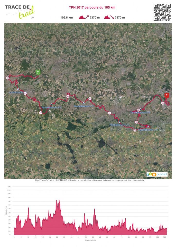 TPN 2017 parcours du 105 km