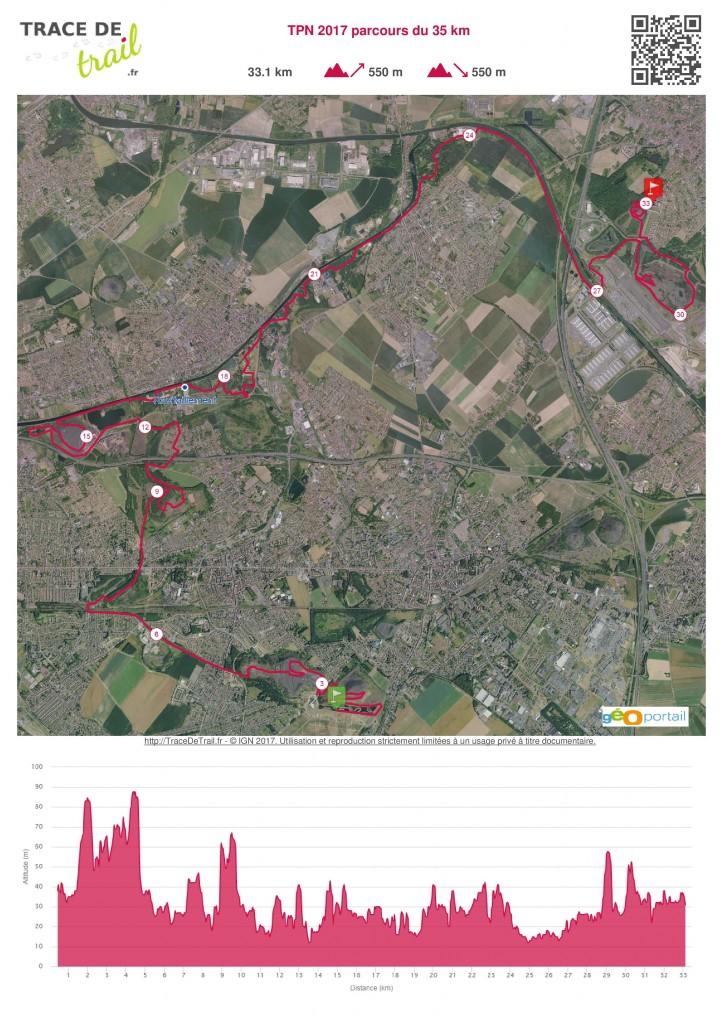 TPN 2017 parcours du 35 km